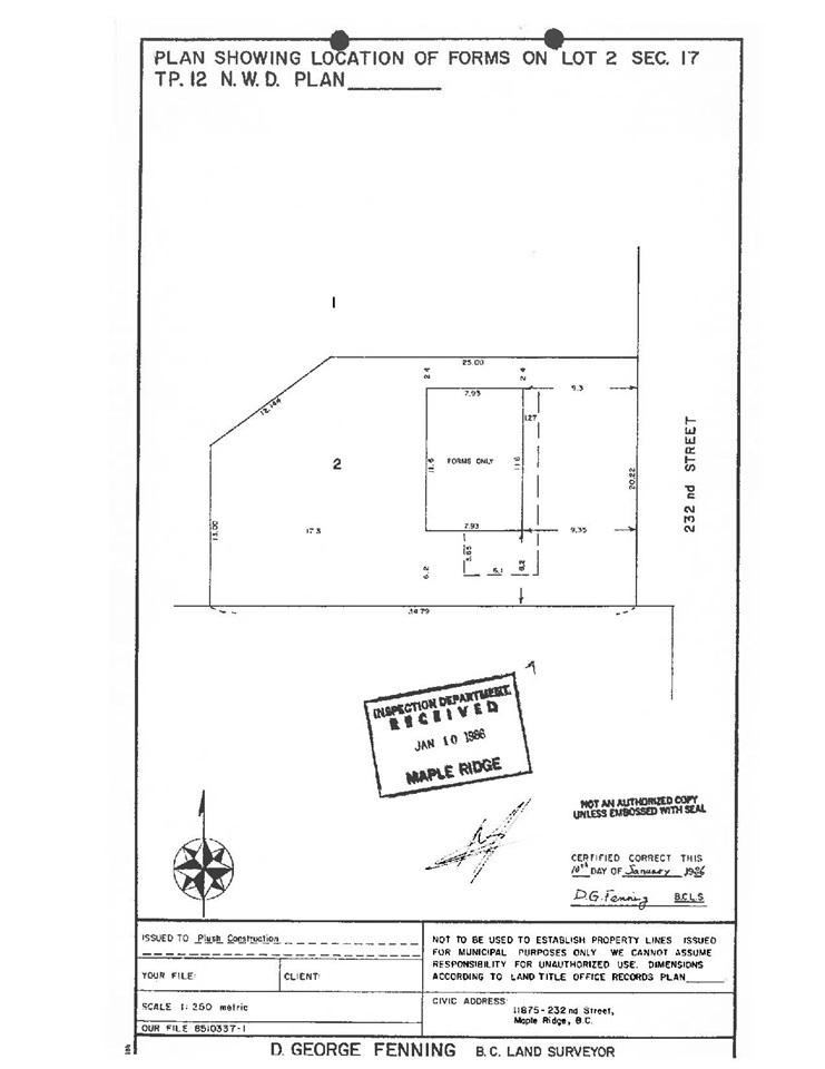 11875 232 STREET, Maple Ridge