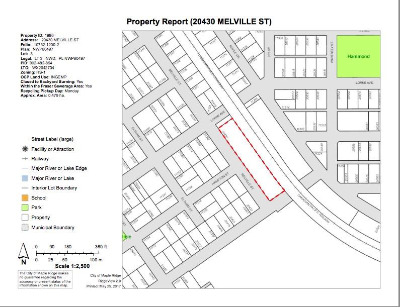 20430 MELVILLE STREET, Maple Ridge