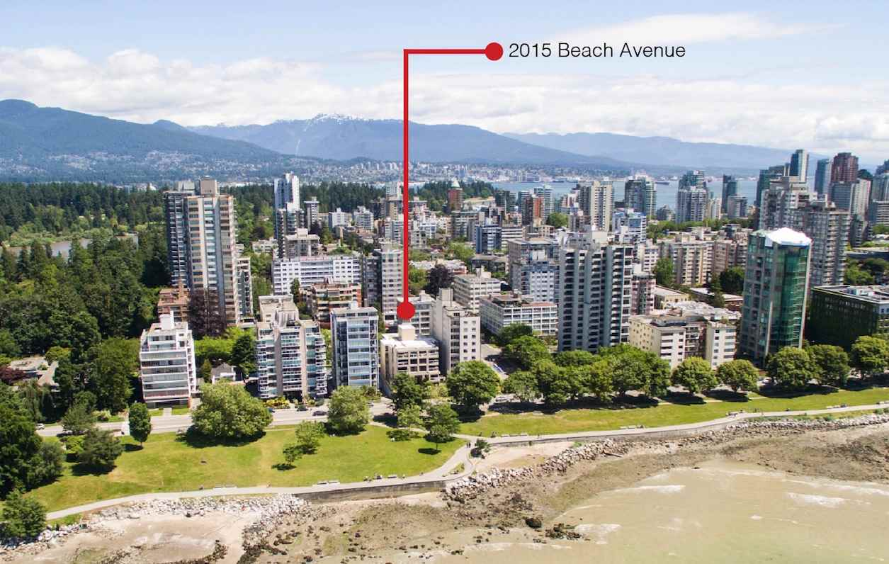402 2015 BEACH AVENUE, Vancouver