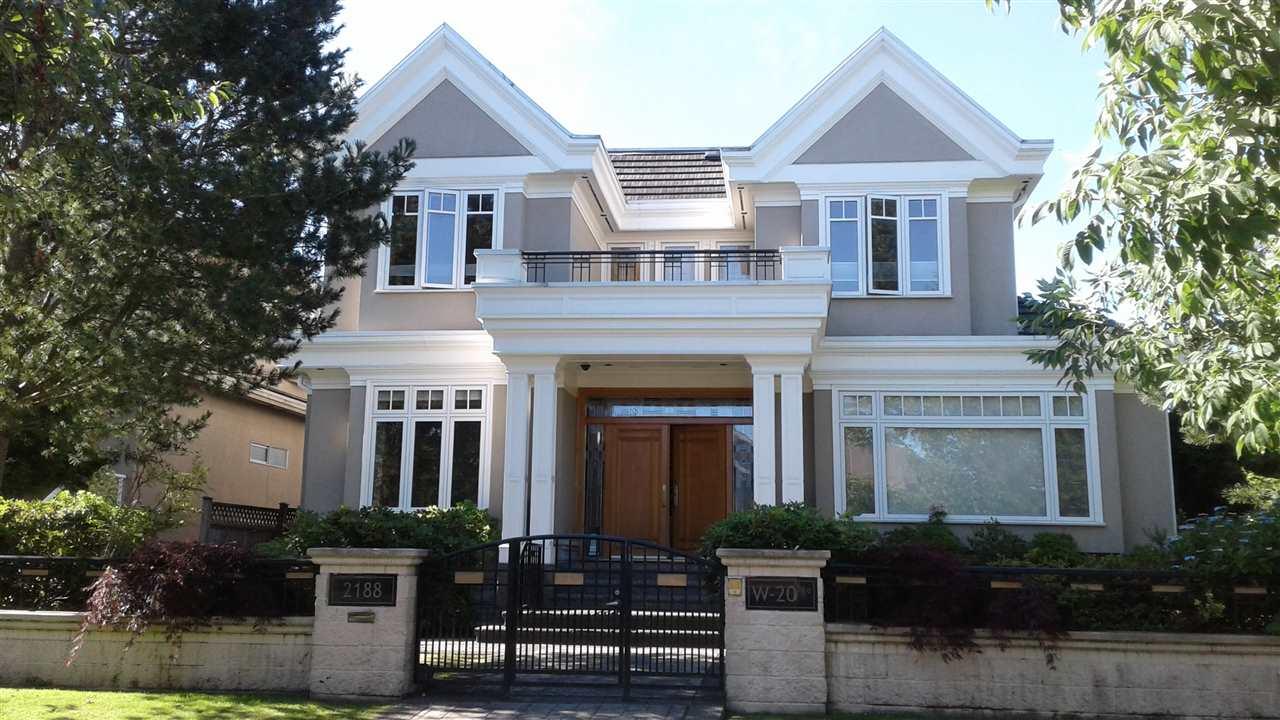 2188 W 20TH Arbutus, Vancouver (R2190093)