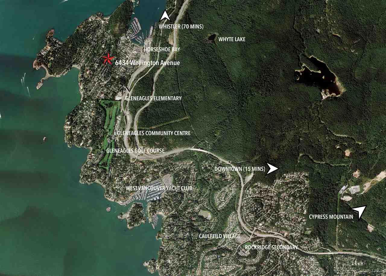 6434 WELLINGTON Horseshoe Bay WV, West Vancouver (R2191723)