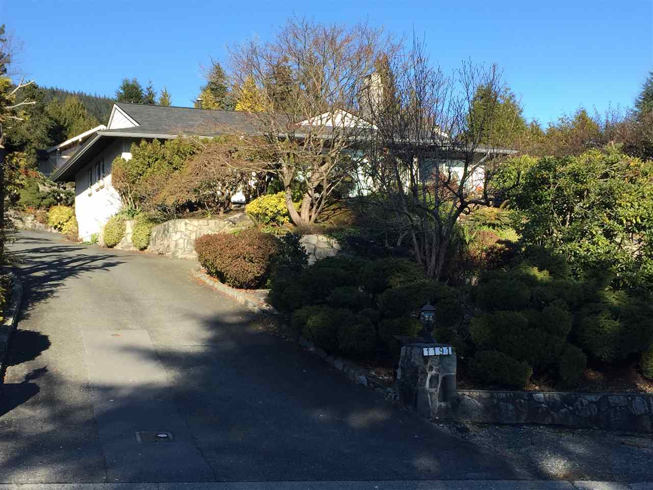 1191 CHARTWELL DRIVE, West Vancouver
