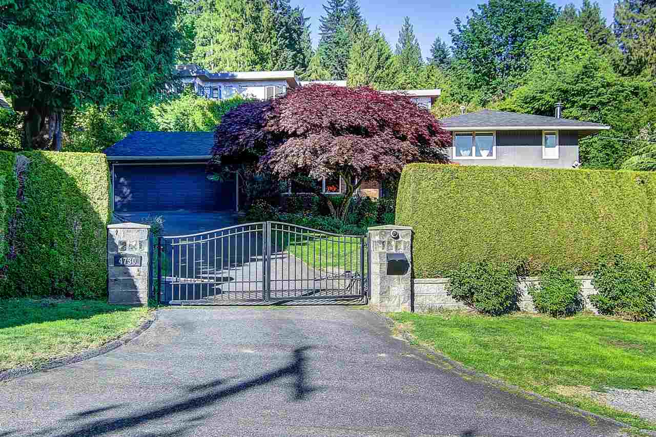 4730 WILLOW CREEK Caulfeild, West Vancouver (R2206846)