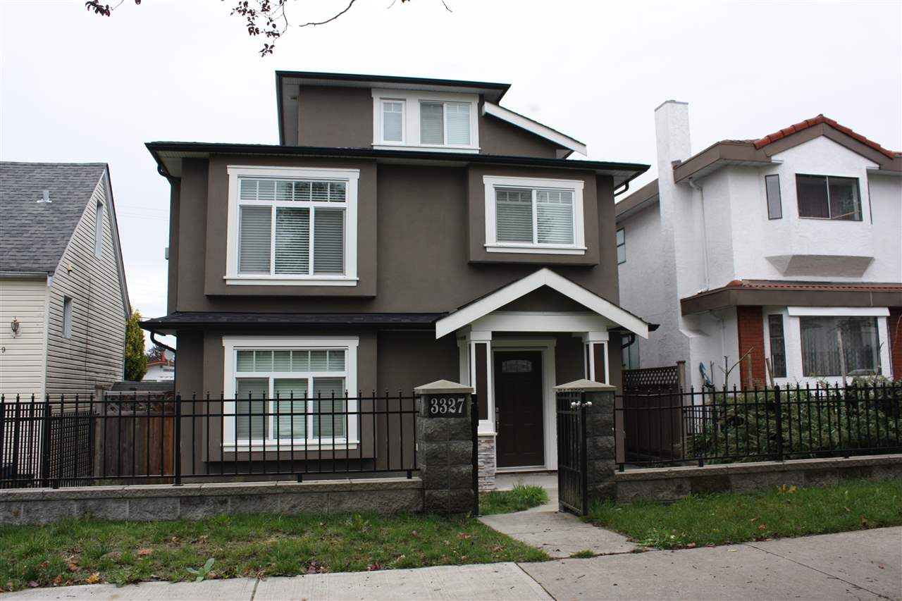 3327 E 26TH Renfrew Heights, Vancouver (R2216738)