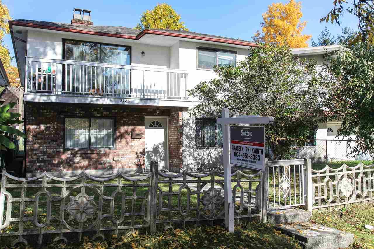 3483 NAPIER Renfrew VE, Vancouver (R2217479)