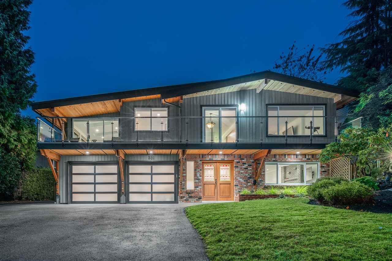 331 FAIRWAY Dollarton, North Vancouver (R2219148)