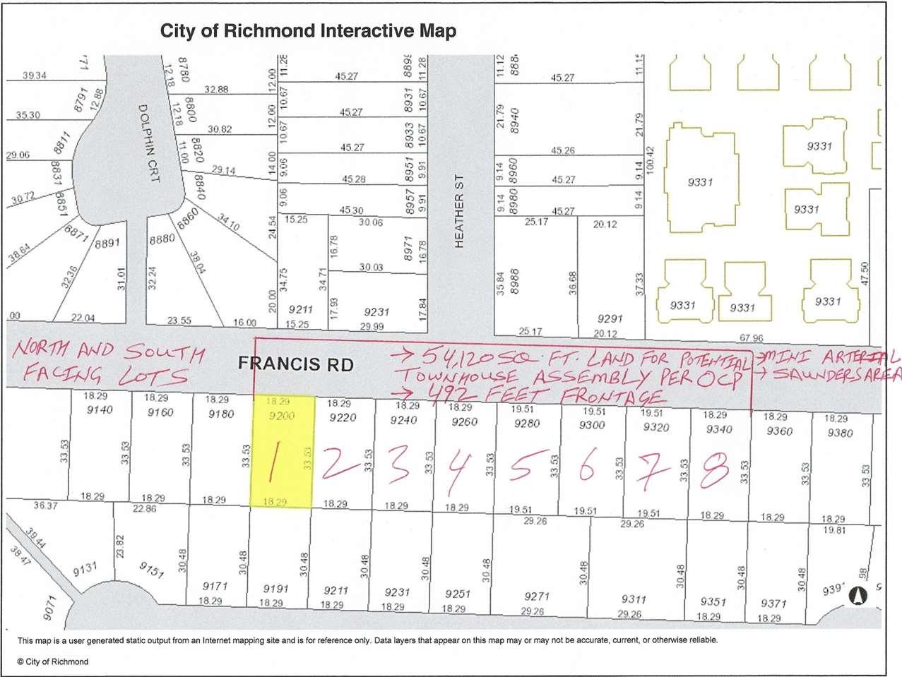 9220 FRANCIS ROAD, Richmond