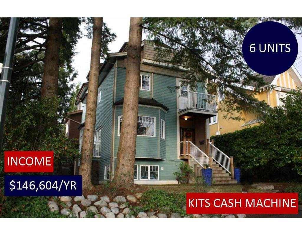 2393 W 6TH Kitsilano, Vancouver (R2227413)