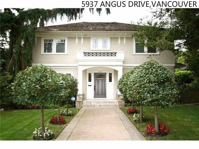 5937 ANGUS South Granville, Vancouver (R2227978)