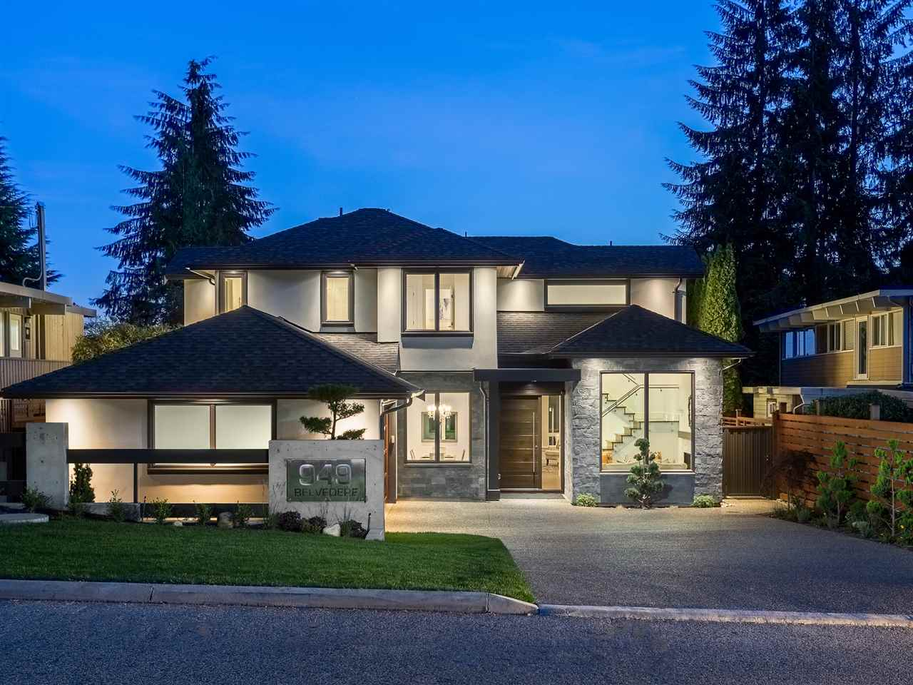 949 BELVEDERE Canyon Heights NV, North Vancouver (R2230476)