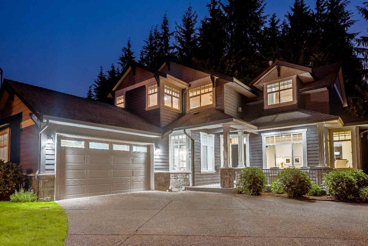 969 BELVEDERE Canyon Heights NV, North Vancouver (R2231657)