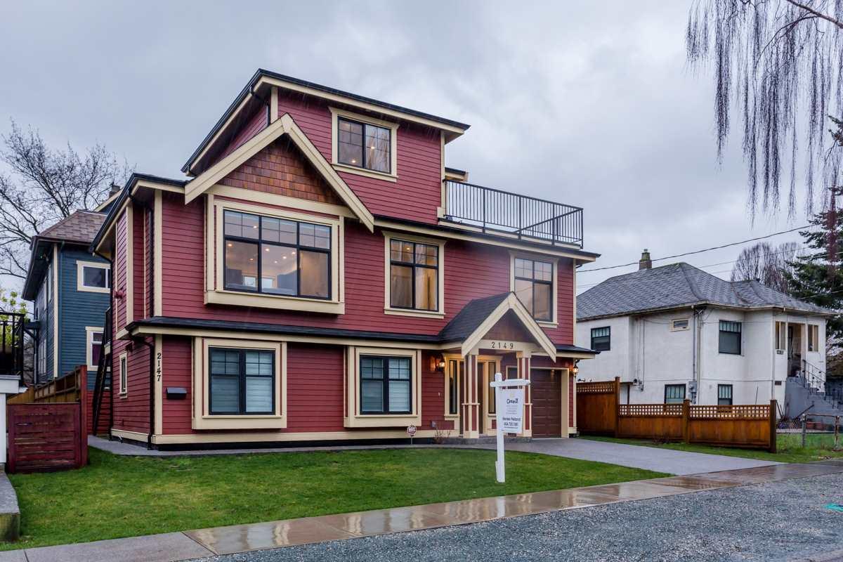 2149 FERNDALE Hastings, Vancouver (R2231883)