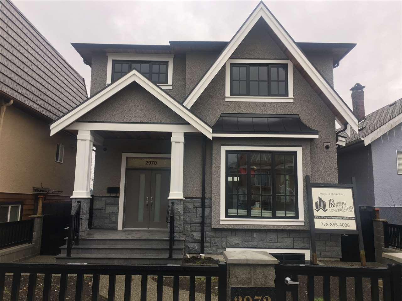 2970 E 6TH Renfrew VE, Vancouver (R2234553)