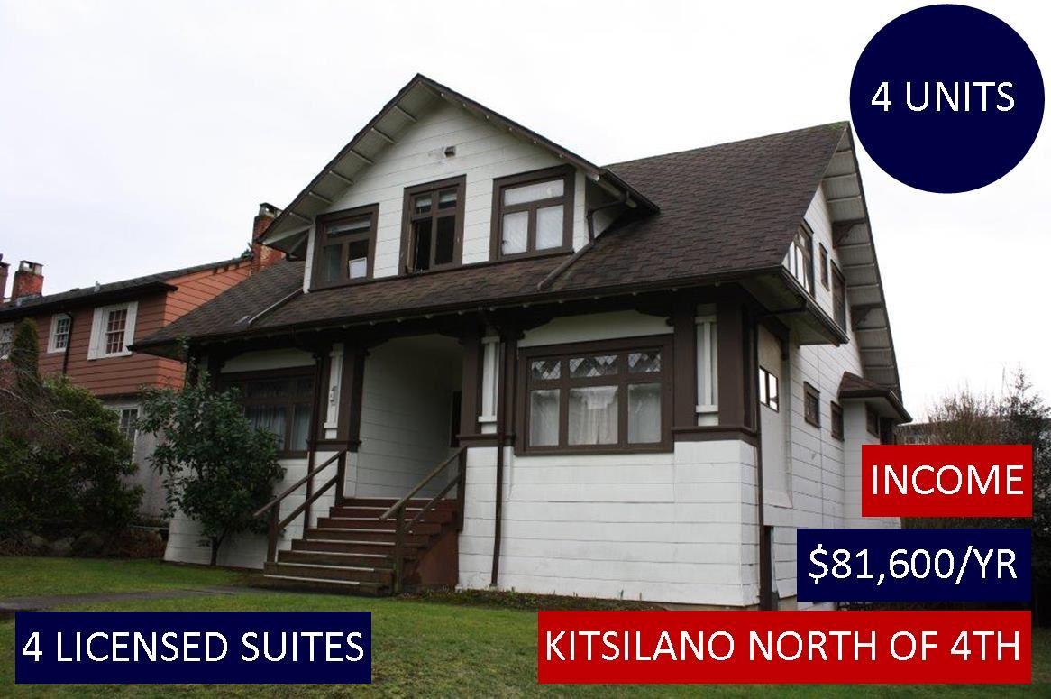 2526 W 3RD Kitsilano, Vancouver (R2236312)