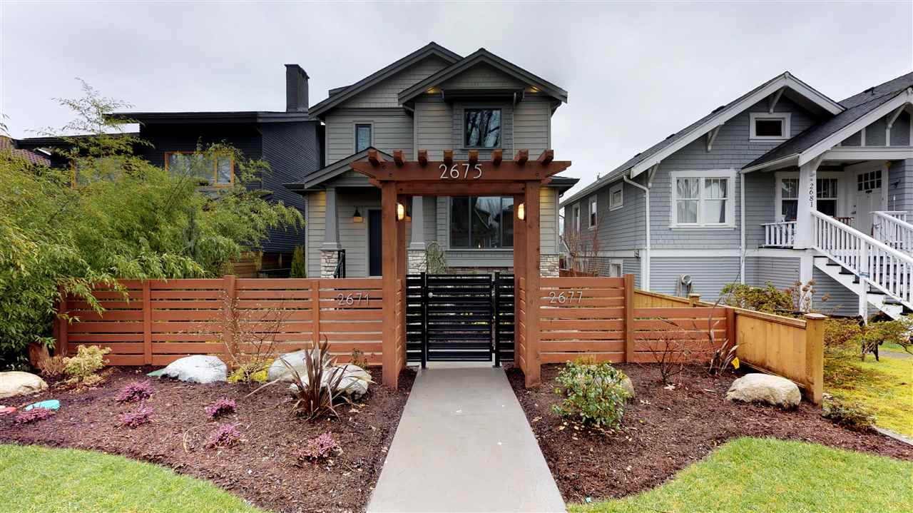 2675 ETON STREET , Vancouver, BC V5K 1J9