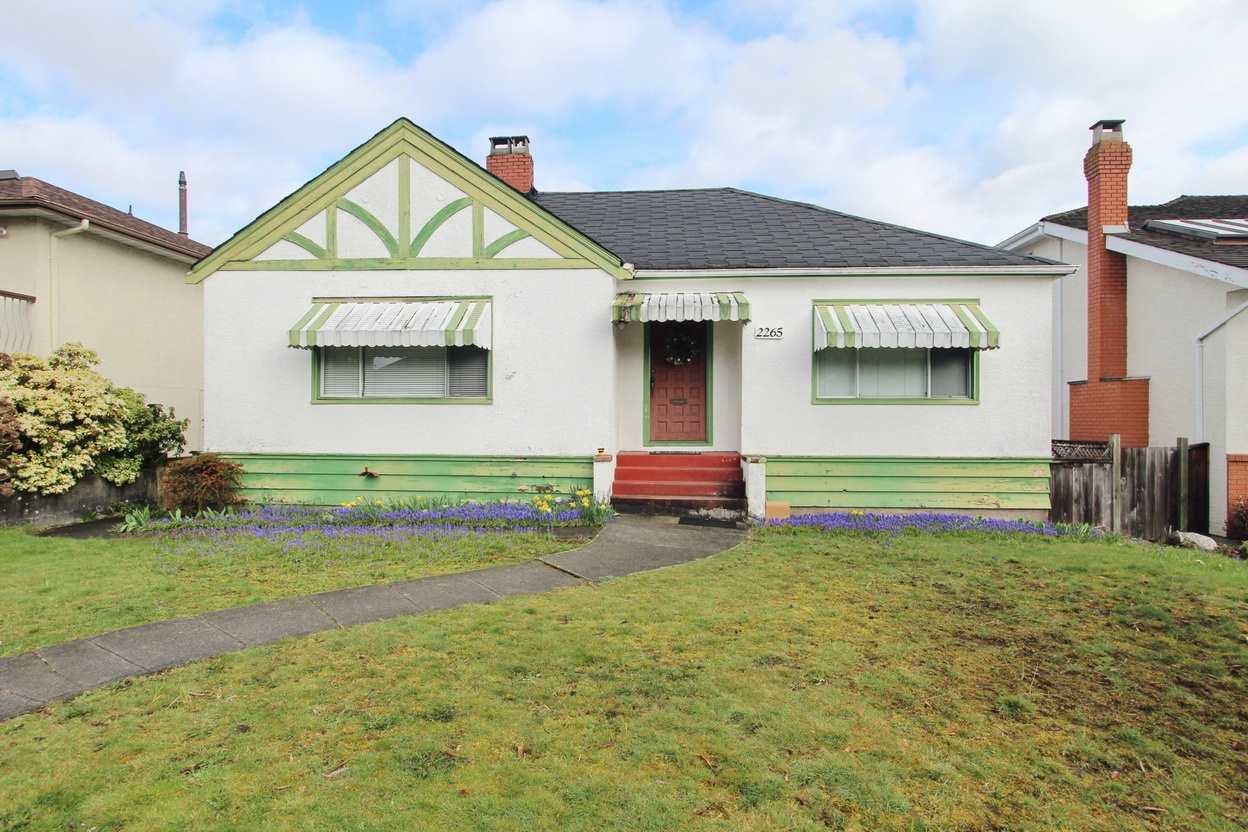 2265 W 18TH Arbutus, Vancouver (R2249850)