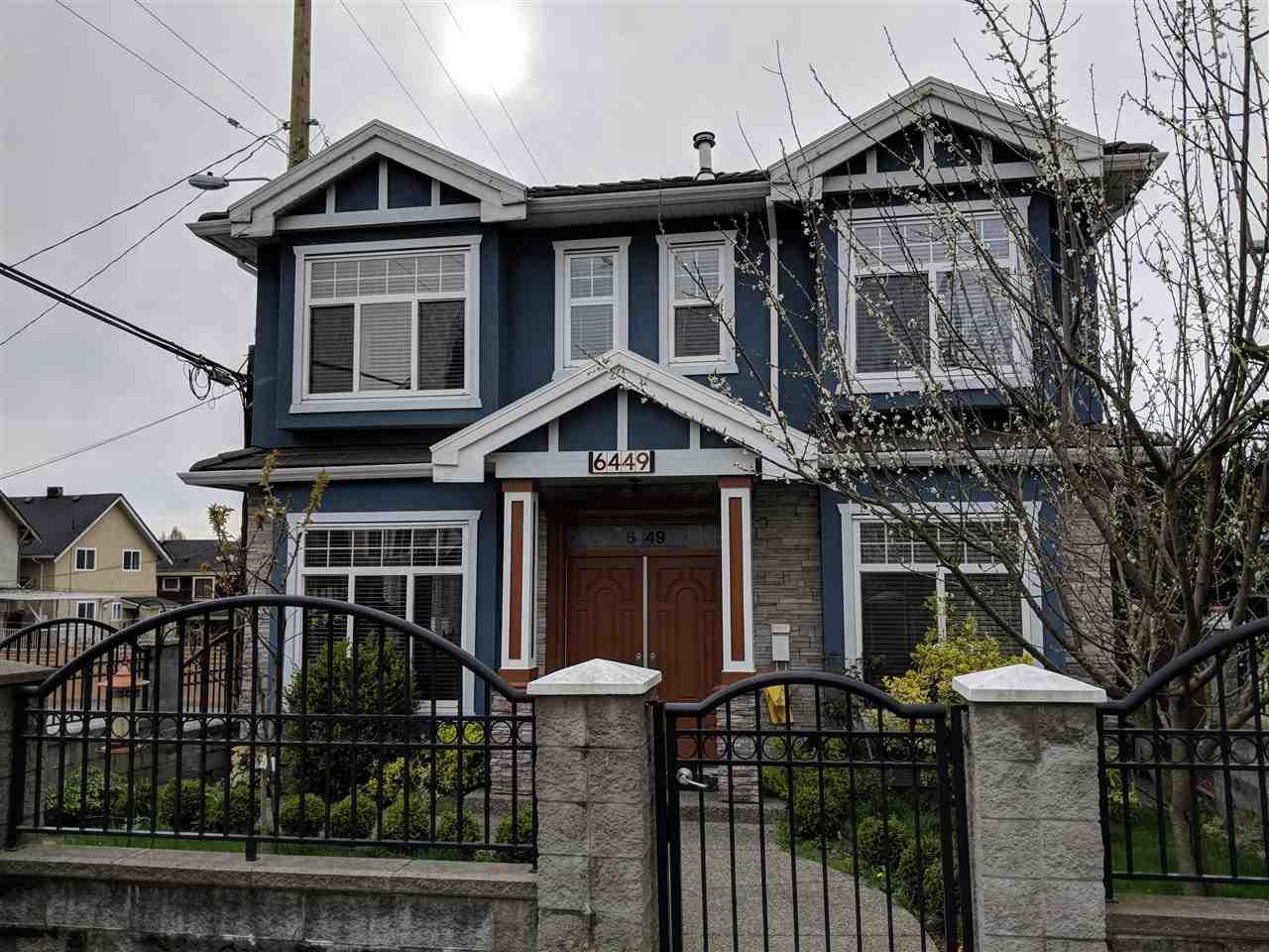 6449 ST. GEORGE Fraser VE, Vancouver (R2258255)