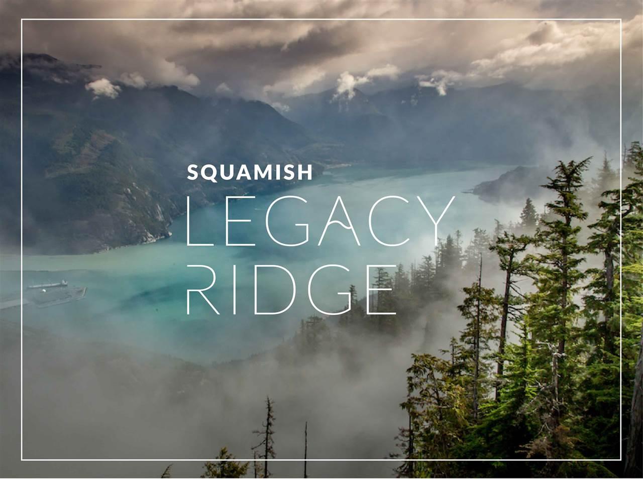 SL-23 LEGACY RIDGE, Squamish
