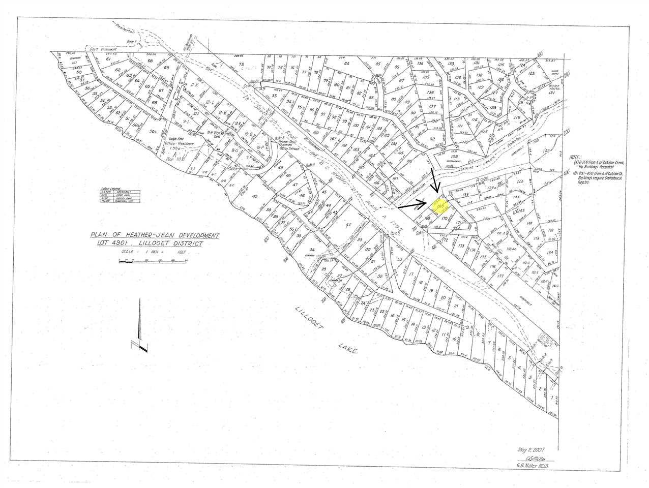 Lot 169 LILLOOET LAKE ESTATES, Pemberton