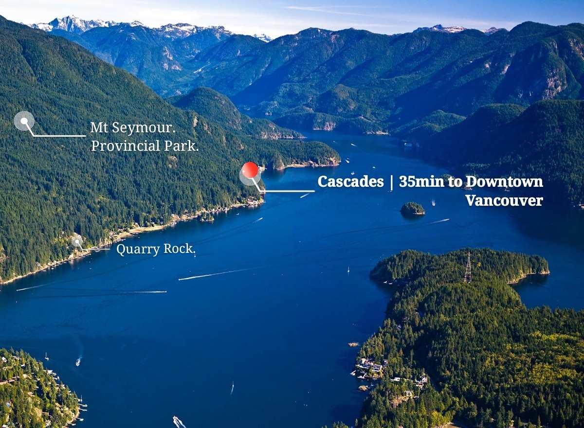 CASCADES, North Vancouver