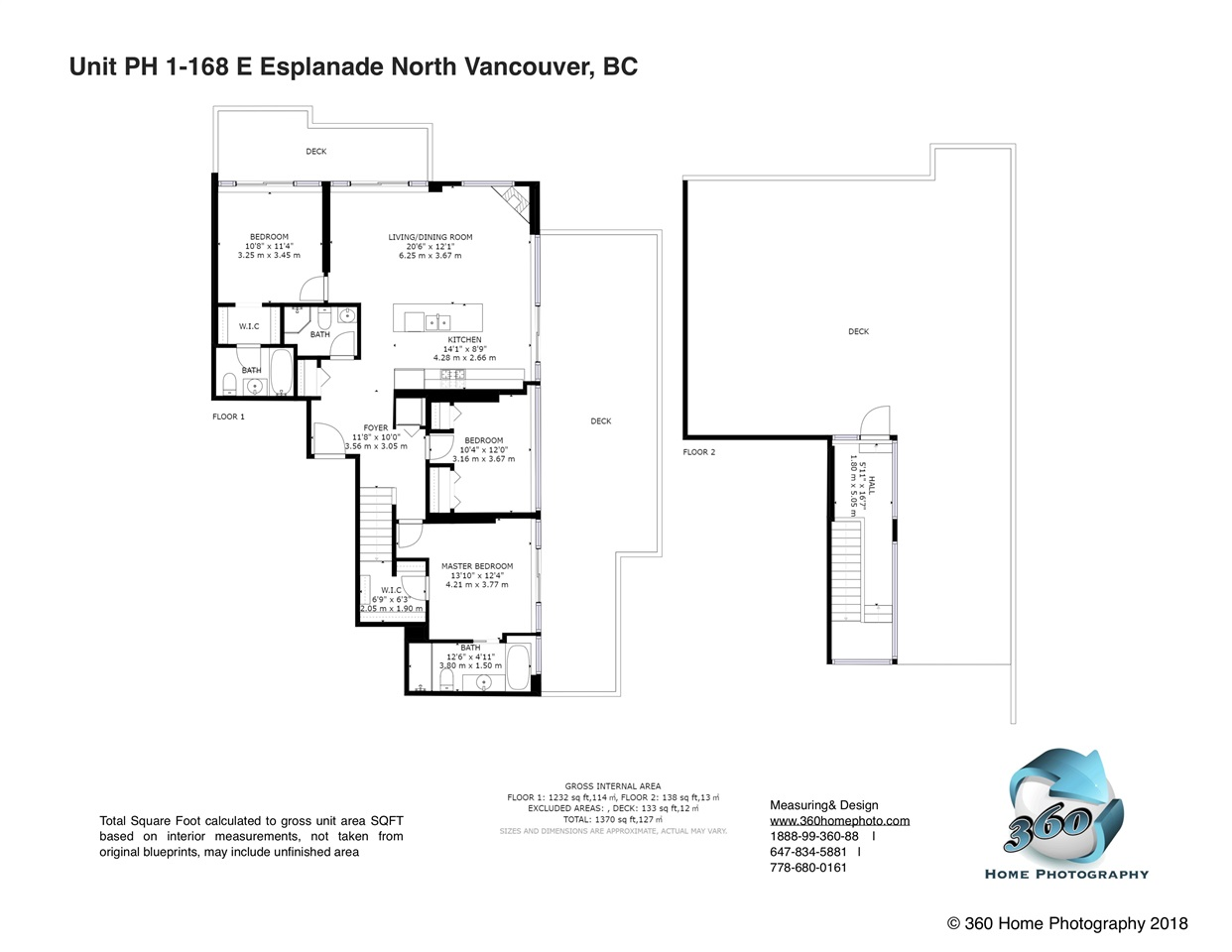 PH1 -  168 E ESPLANADE #PH1 Lower Lonsdale, North Vancouver (R2296121)