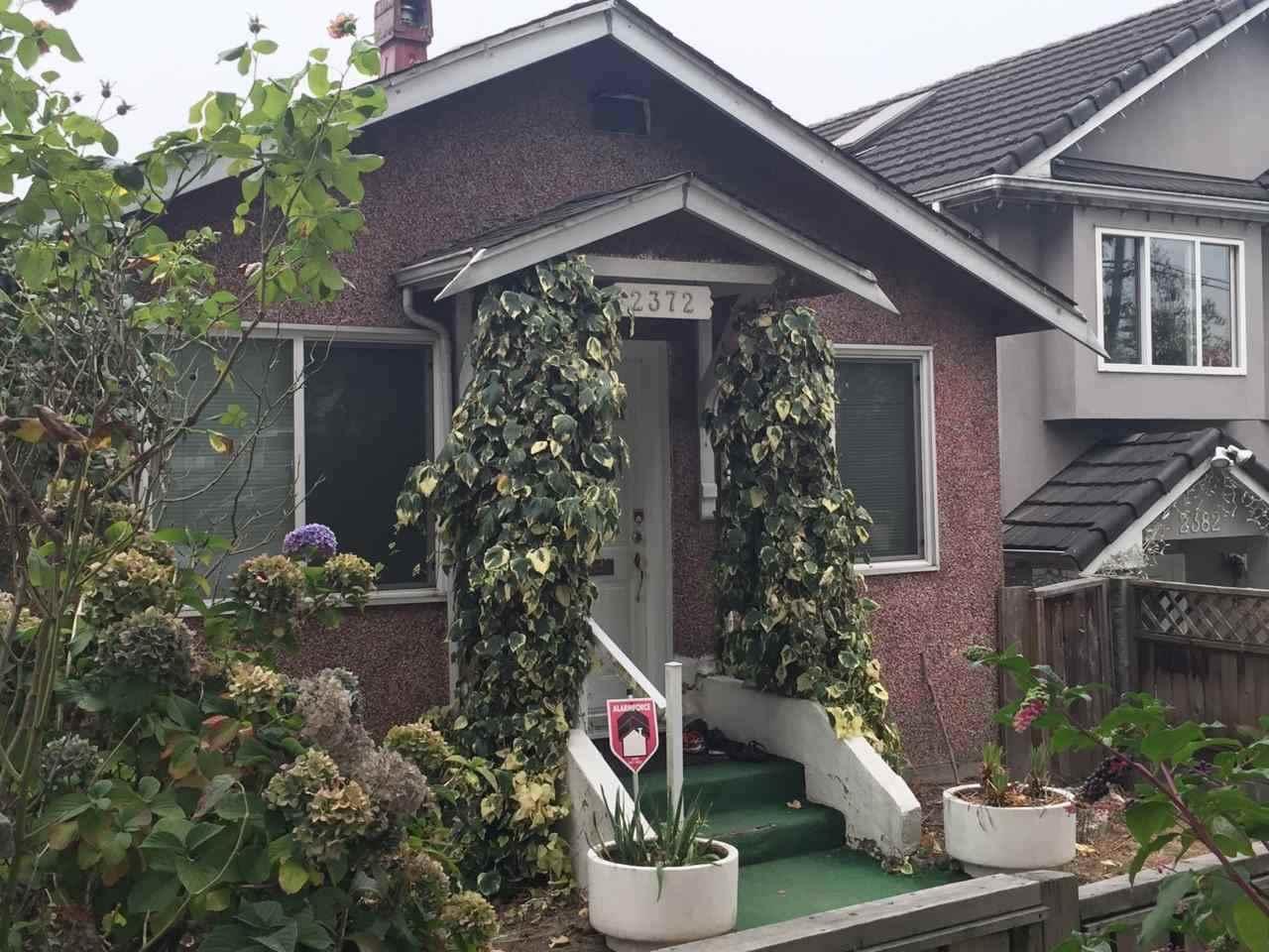 2372 NANAIMO STREET, Vancouver