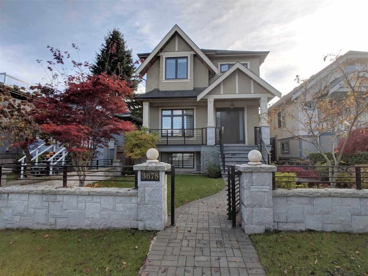 3678 W 19TH AVENUE, Vancouver