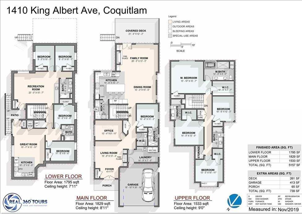 1410 KING ALBERT AVENUE - Central Coquitlam - Coquitlam