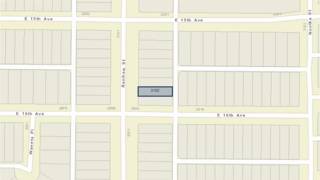 3182 RENFREW STREET, Vancouver
