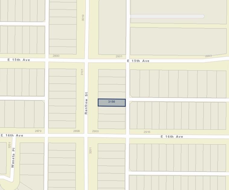 3156 RENFREW STREET, Vancouver