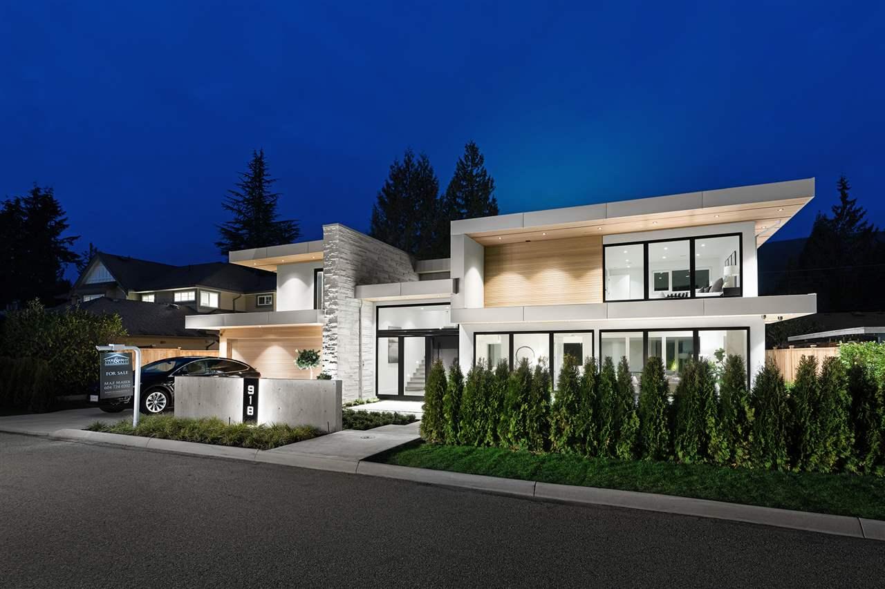 918 GLENORA AVENUE - Edgemont - North Vancouver