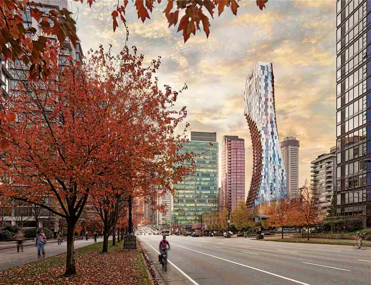 3203 1550 ALBERNI STREET - West End - Vancouver