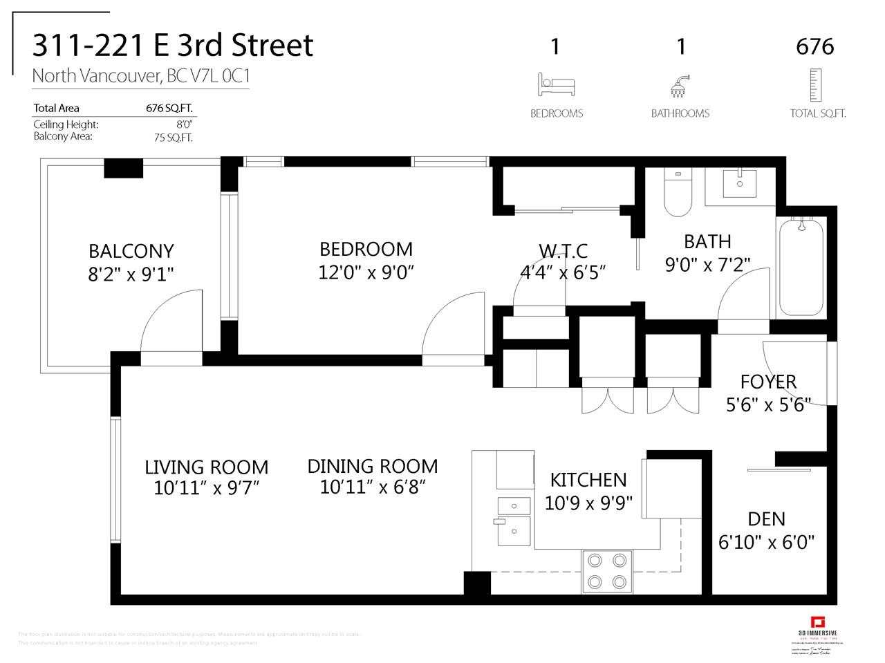 Listing Image of 311 221 E 3RD STREET