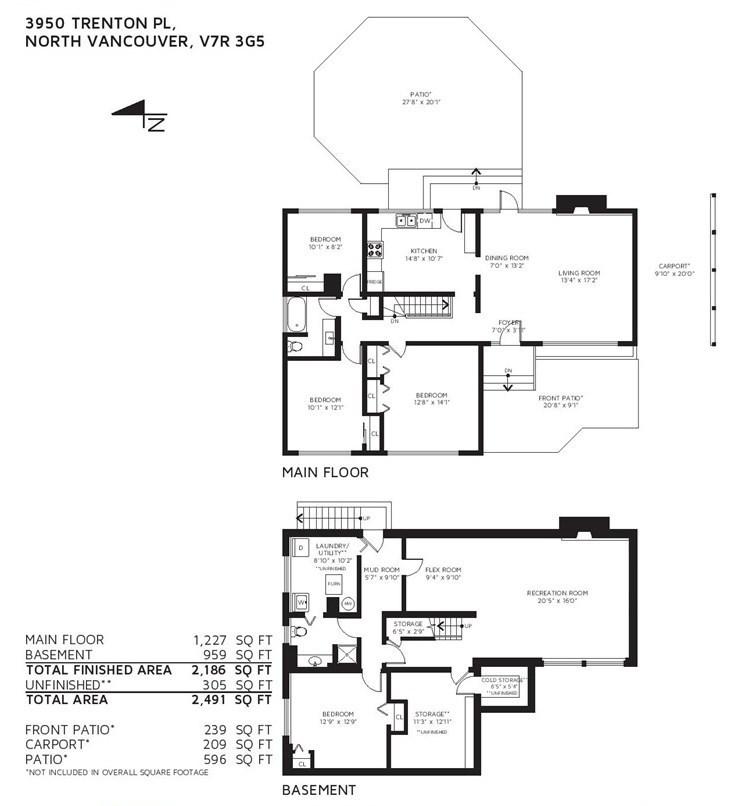 Listing Image of 3950 TRENTON PLACE