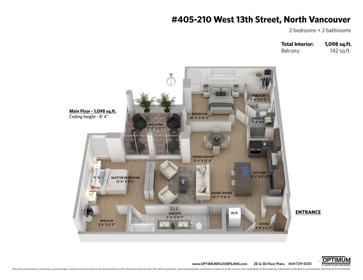 Listing Image of 405 210 W 13TH STREET