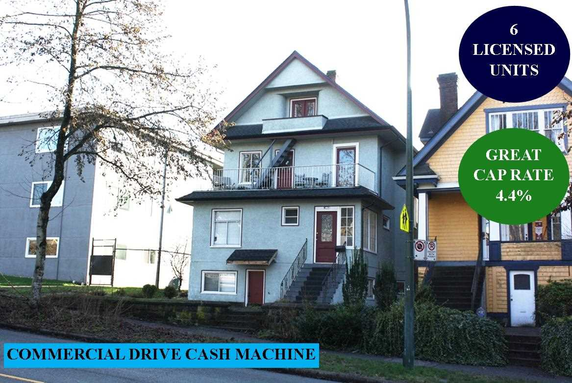 1862 VENABLES STREET, Vancouver East