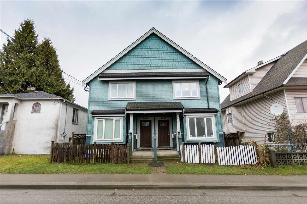 3641 KNIGHT STREET, Vancouver East