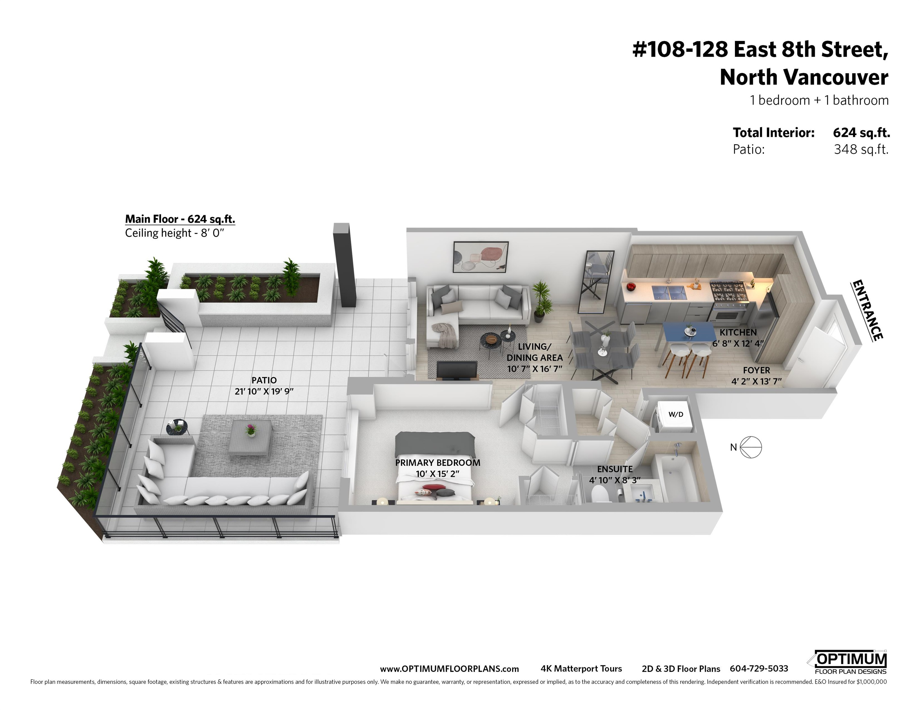Listing image of 108 128 E 8TH STREET
